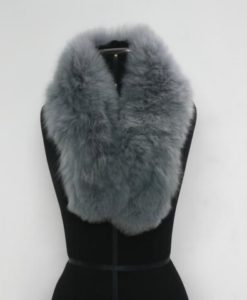 Alpaca fur collar