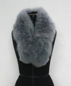 Alpaca fur collar