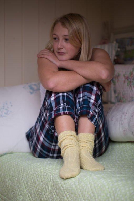 snug bed socks