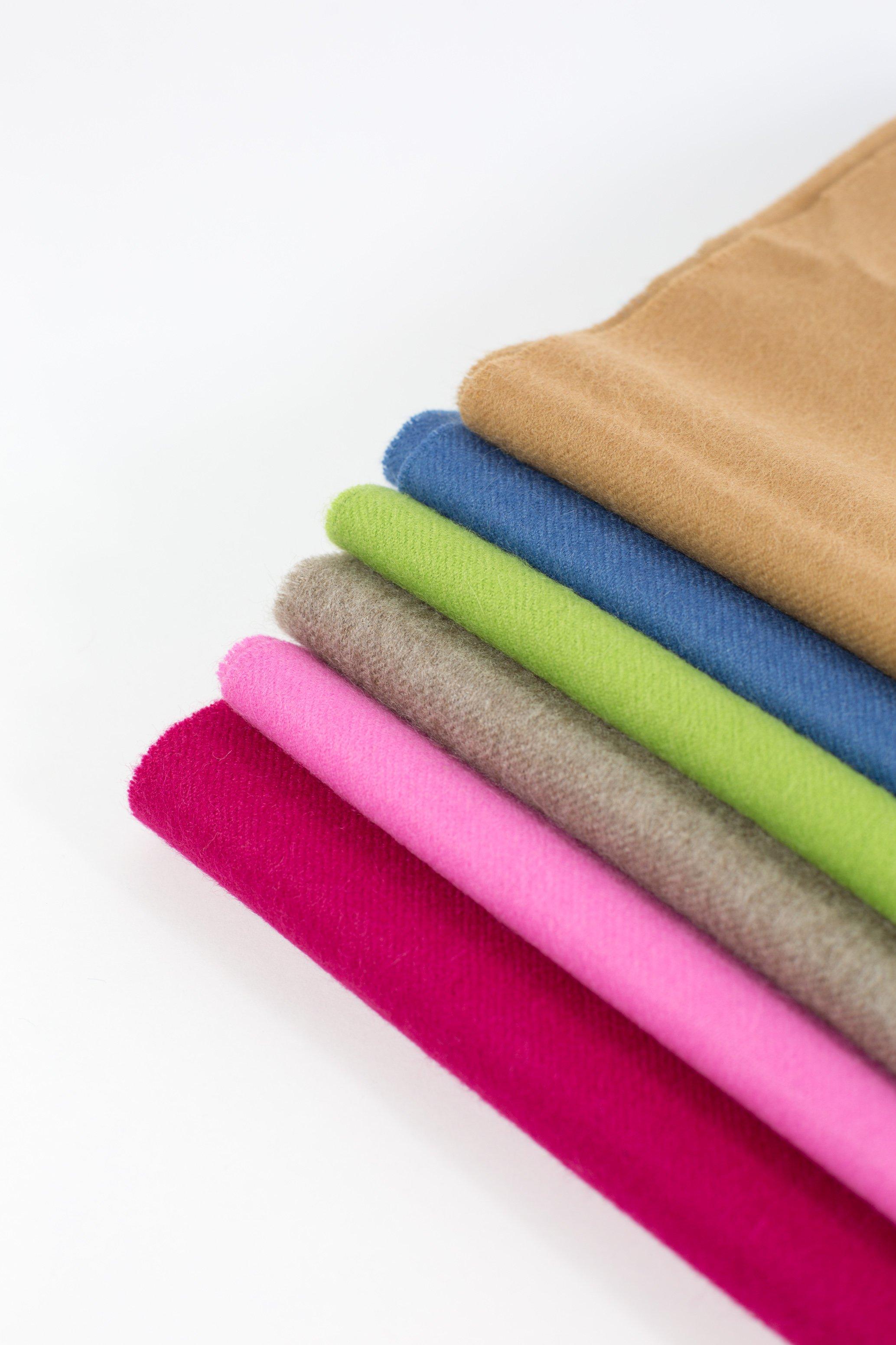 solid weave scarves