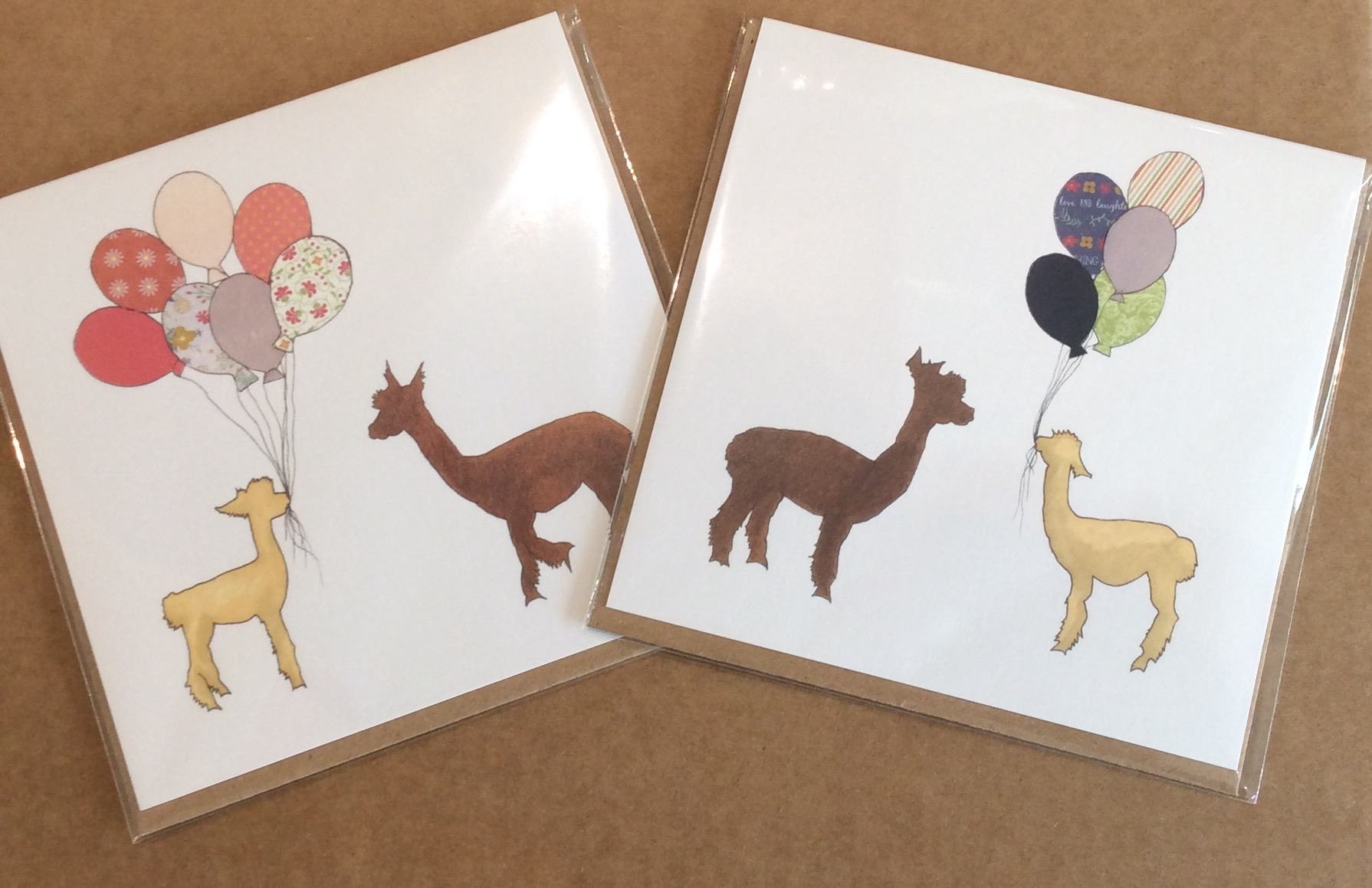 Greeting Cards Exclusive To Alpaca Annie And Supporting Yfl