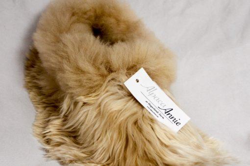 slippers in suri alpaca