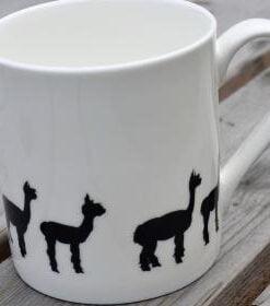 China alpaca mug