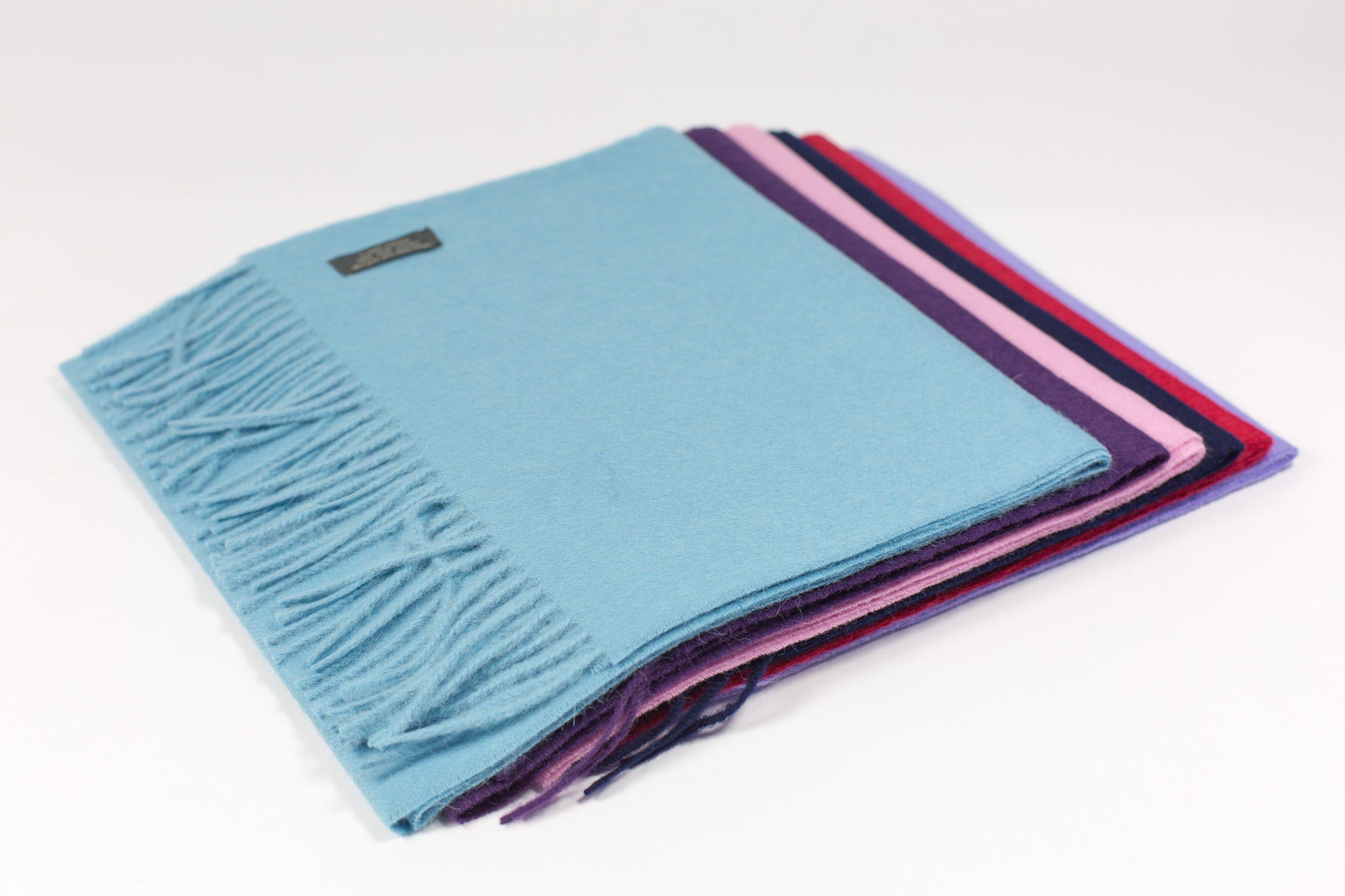 scarf in brushed alpaca