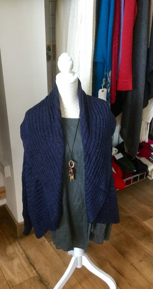 jacket cardigan navy