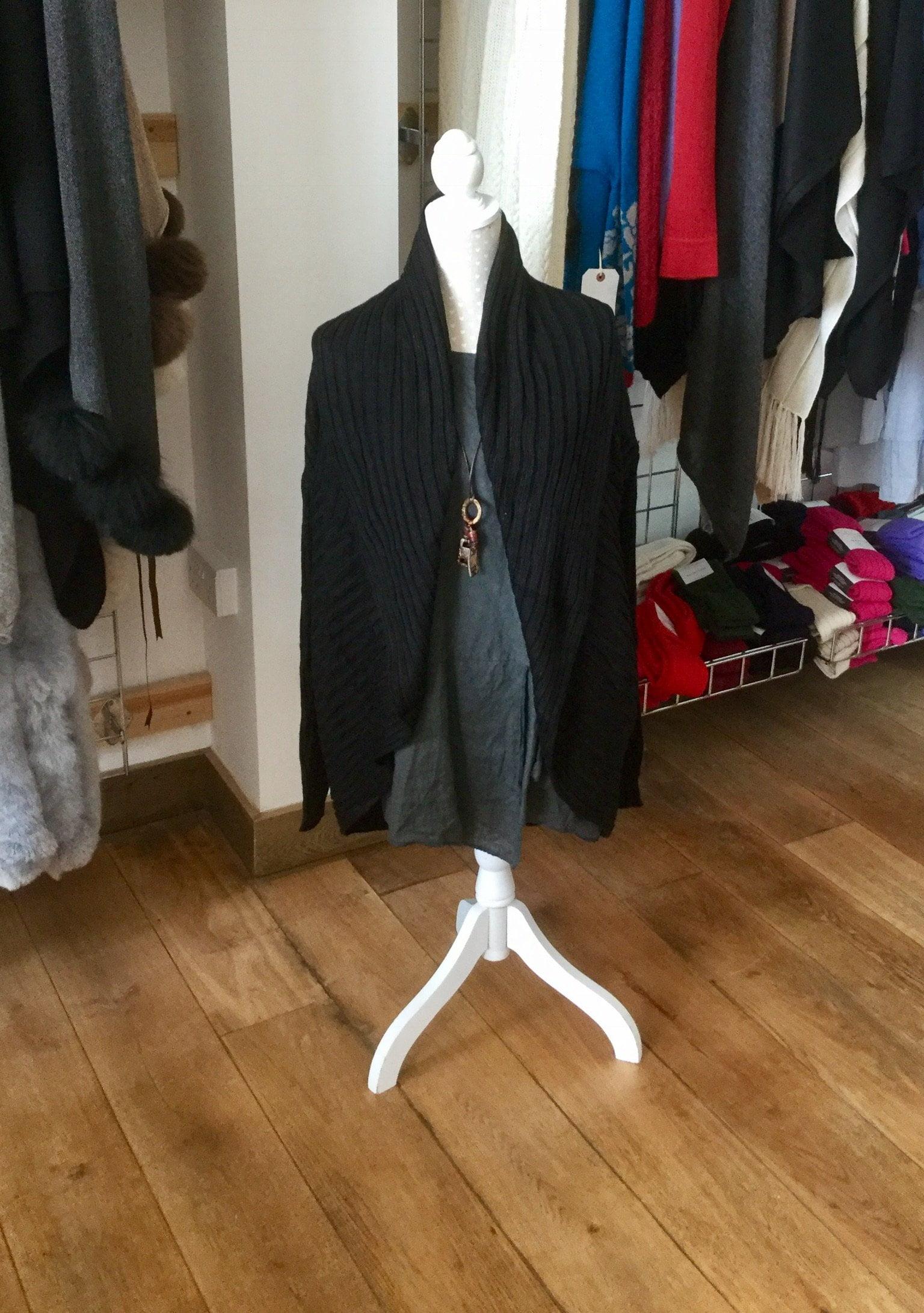 jacket cardigan black