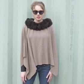 cape complete with fur trim