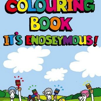 colouring book - nosey paca