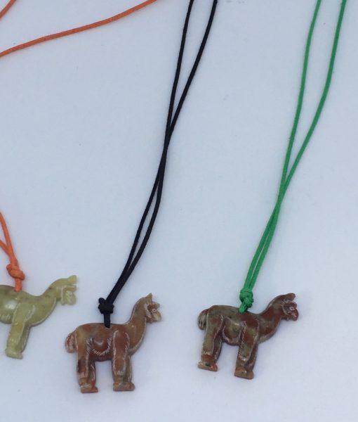 Pendant - Alpaca made in soap stone