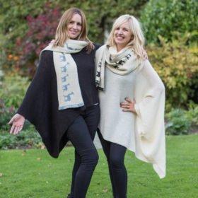 British alpaca scarves