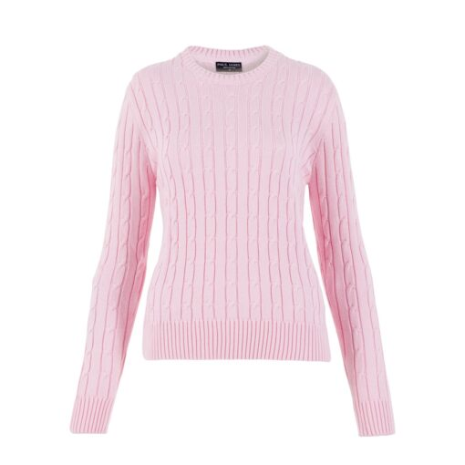 cotton cable jumper