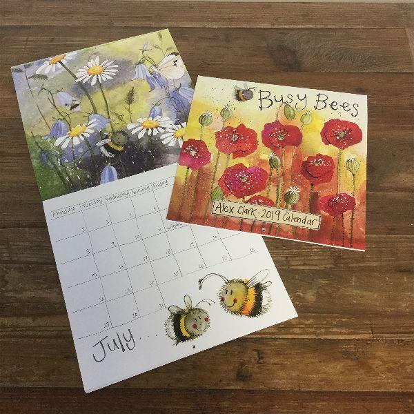 Busy Bees Alex Clark 2020 Calendar: Calendar 2019 From Alpaca AnnieCalendar 2019