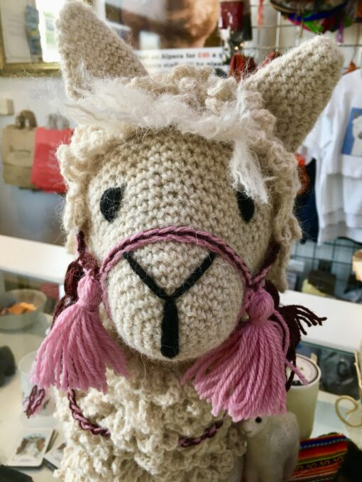 Handmade Crotchet Alpaca